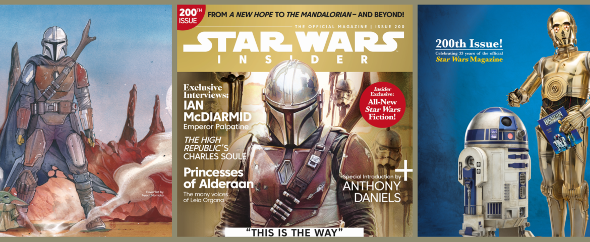 Star Wars Insider Celebrates 200 Issues, Plus Special Subscription Offer!