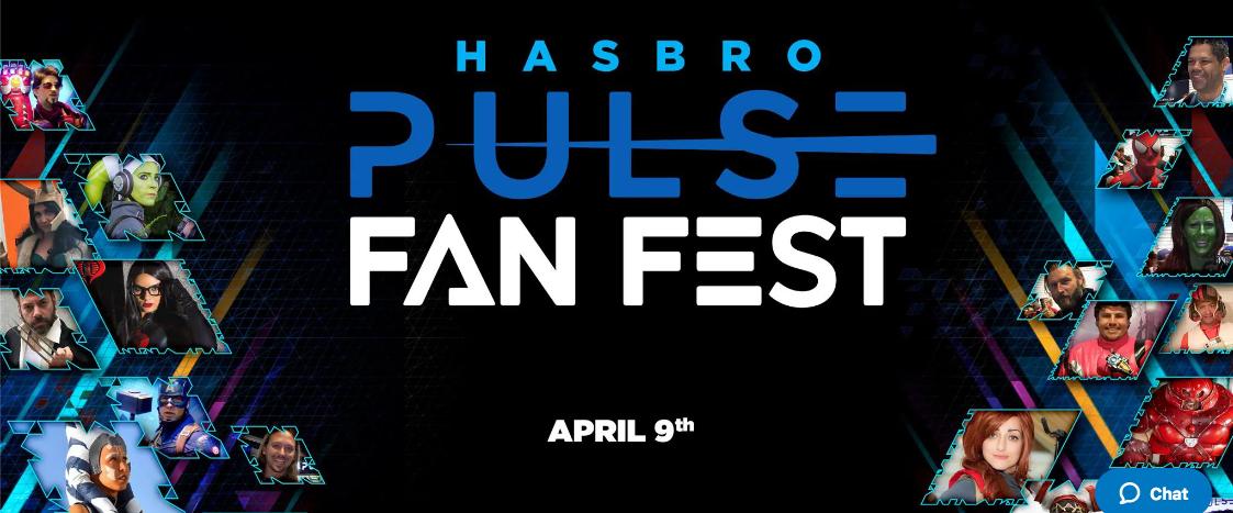 "Hasbro Presents ""Hasbro Pulse Fan Fest"" – A New Virtual Event Coming April 9"