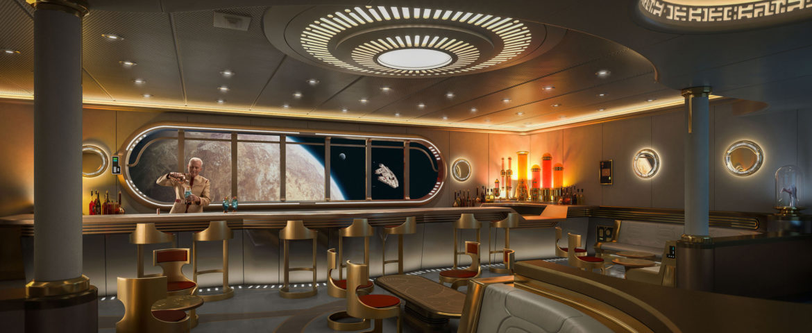 Disney Wish Cruise Ship To Feature Star Wars-Themed Hyperspace Lounge
