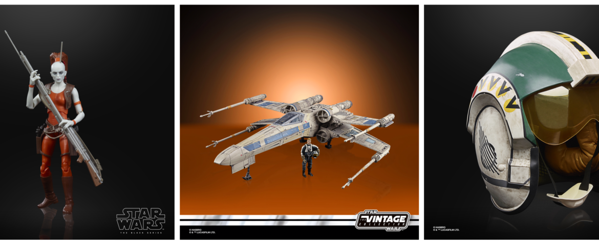Hasbro's Star Wars Fan Fest Products Revealed