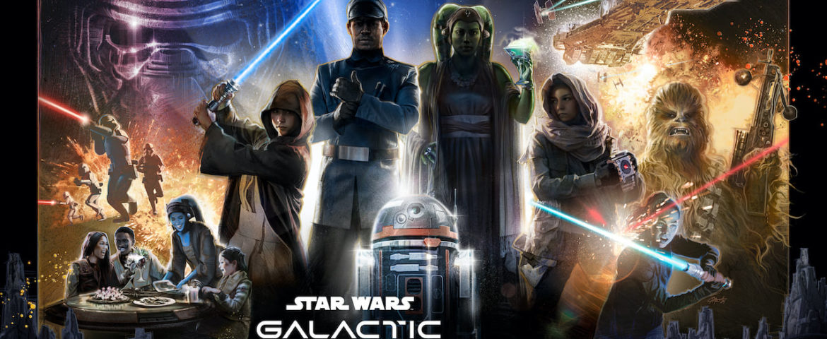 First Look at the Promotional Poster for Star Wars: Galactic Starcruiser at Walt Disney World