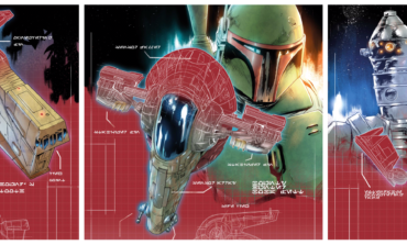 Behold the Vehicles of Star Wars: War of the Bounty Hunters in New Ship Blueprint Covers