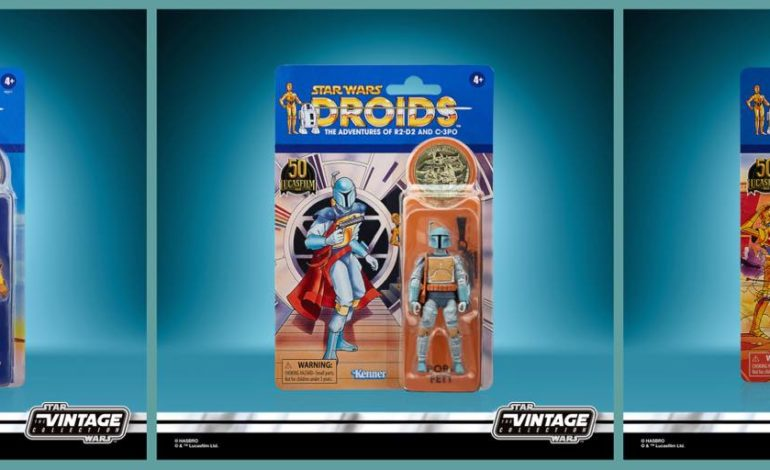 New Hasbro Star Wars Figures Inspired by STAR WARS: DROIDS Revealed!