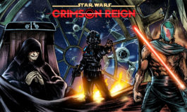 Darth Vader, Qi'ra, and More Brace Themselves for a Galaxy-Shattering Saga in New 'Star Wars: Crimson Reign' Connecting Cover