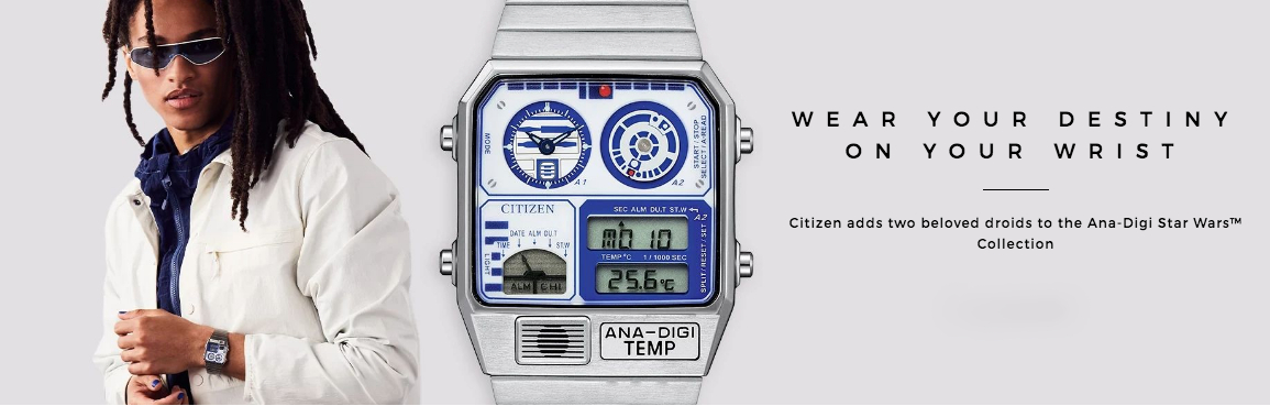 Citizen is Launching New Styles to its Star Wars Collection to Commemorate the Iconic Franchise.