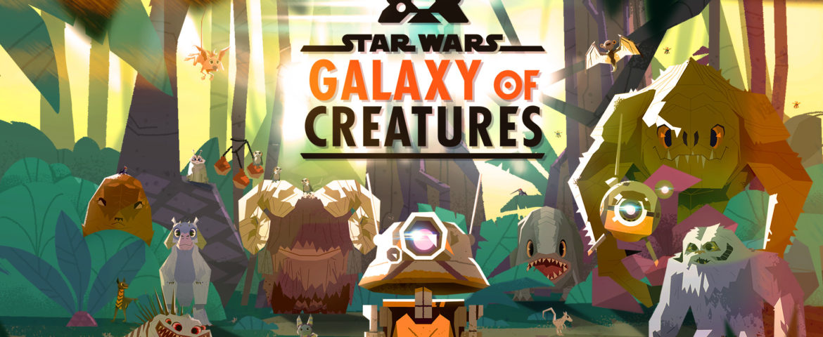 Meet Galactic Wildlife Big and Small in Star Wars Galaxy of Creatures